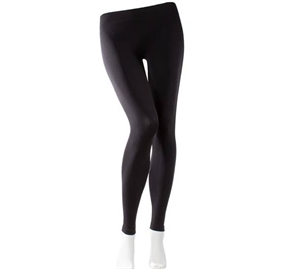 Decoy Seamless leggings Lange & Sorte til Damer