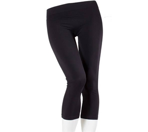 Decoy Microfiber Capri Leggings Sort