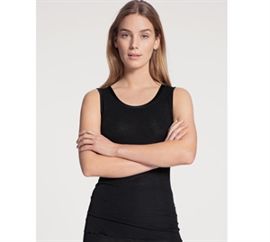 Calida True Confidence Tank Top Uld/ Silke Sort