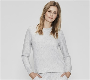 JBS Bamboo Collection Sweat Shirt Lys Grå Meleret