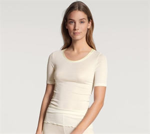 Calida True Confidence T-Shirt Uld/ Silke Cream