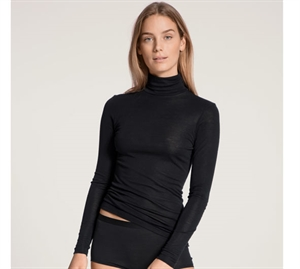 Calida True Confidence Long Sleeve Turtleneck Black