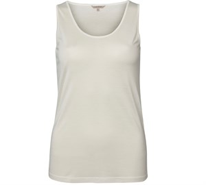 Lady Avenue Silke Tank Top/ Undertrøje Offwhite