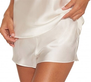 Lady Avenue Silke Shorts Offwhite