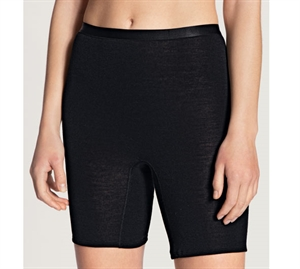 Calida True Confidence Pants Kort ben Uld/ Silke Sort