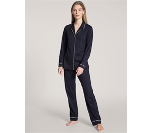 Calida Night Lovers Pyjamas Dark Blue