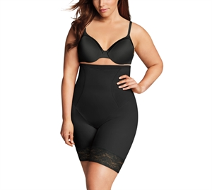 Maidenform Curvy High Waist Thigh Slimmer Sort
