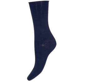 Decoy Ankle Sock Comfort Top Blue Iris