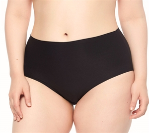 Chantelle Soft Stretch XL-4XL High Waist Queensize Black
