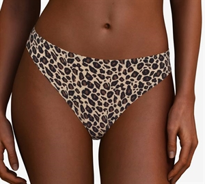 Chantelle Soft Stretch String Animal Print - Leopard Print