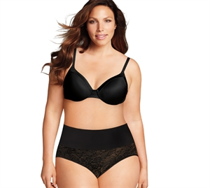 Maidenform Curvy Shaping Trusse m/ Blonde Sort