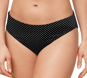 Amoena Romantic Downtown Bikini Trusse Black & White Dots- Vendbar