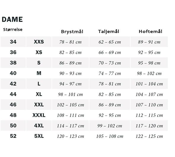 e45b0818d2b7 Maxi trusse i store Størrelser str. 40-62 - Bomuldsundertøj
