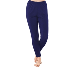 Damella Bambus Leggings Navy