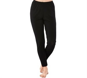 Damella Bambus Leggings Sort