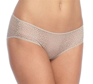 DKNY Lace Trim Hipster Latte