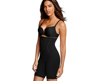 Maidenform Firm Foundations High Waist Thigh Sort